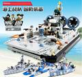 GUDI Forças Navais Aviso Barco Offshore Navio Building Block 520 Pcs Bricks Brinquedos Melhores Brinquedos de Piquete
