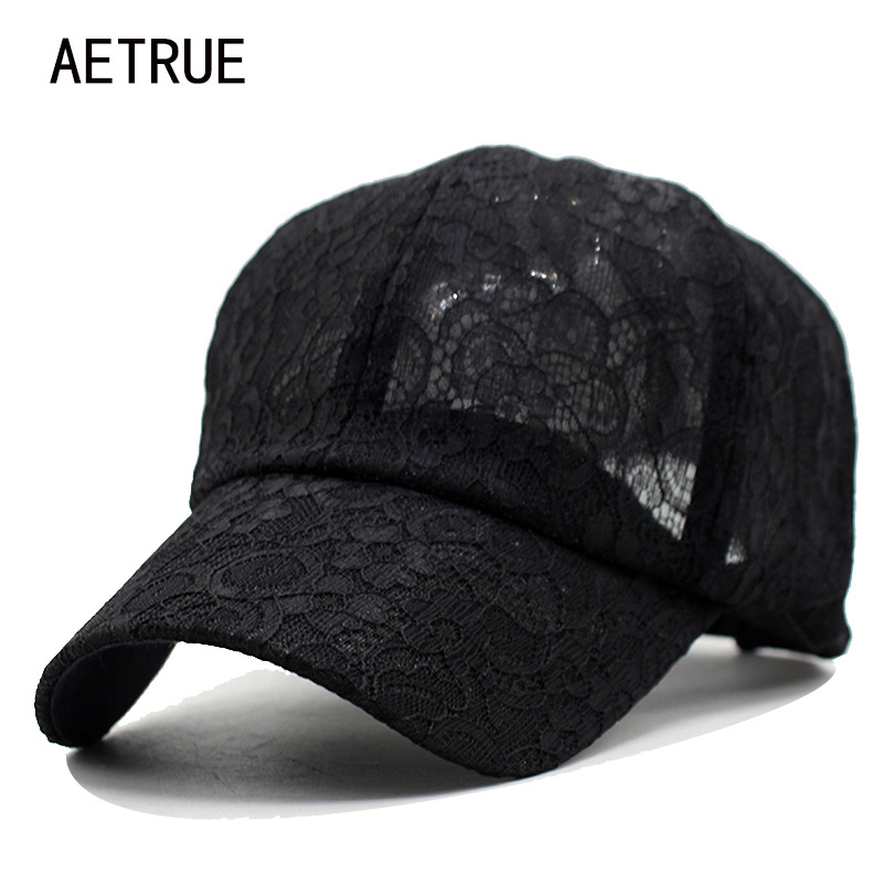 2018 New Baseball Cap Women Snapback Caps Hats For Women Girls Casquette Brand Bone Gorras Lace Floral Lady Fashion Sun Hat Caps aetrue winter beanie men knit hat skullies beanies winter hats for men women caps warm baggy gorras bonnet fashion cap hat 2017