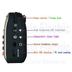Image 2 - Rolton W405 Digital Portable Mini Mp3 Play Portable Fm radio Music Player Speaker TF USB With Flashlight Money Verify