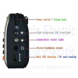 Image 2 - Rolton W405 dijital taşınabilir Mini Mp3 oyun taşınabilir Fm radyo müzik çalar hoparlör TF USB ile el feneri para doğrulama