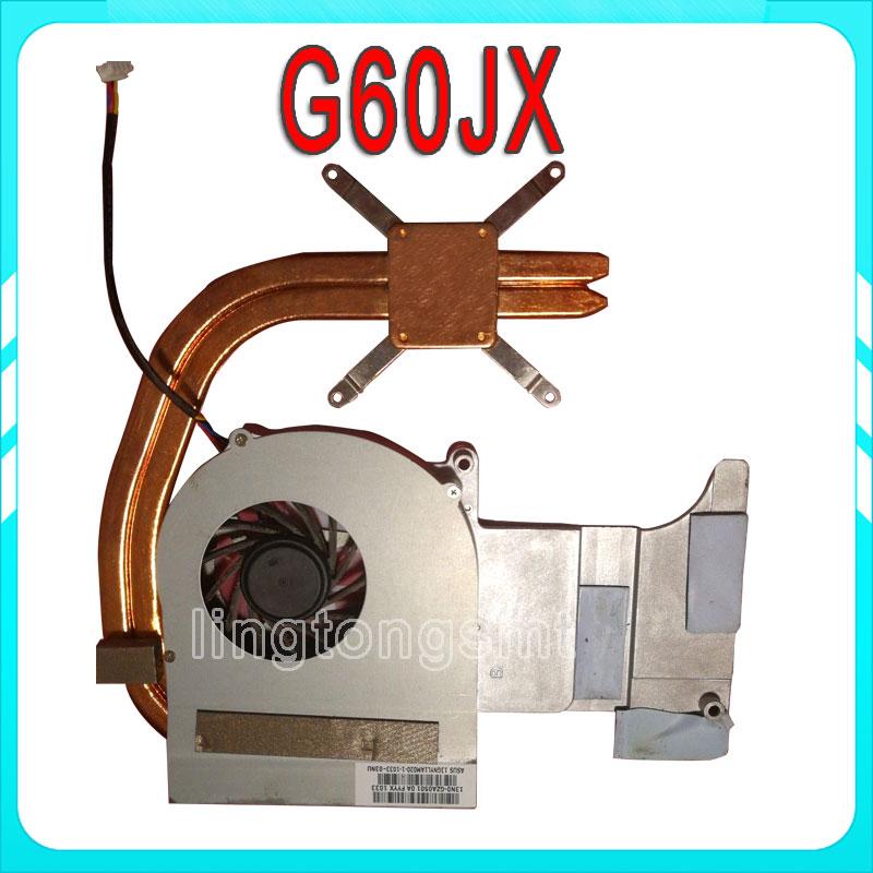 Original For ASUS G60J G51J G60JX G51JX CPU Fan&Heatsink Fan free shipping asus g60j в минске