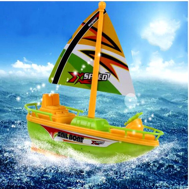 Electric Sdboat Sd Racing Boat Motor Kids Bath Bathtub Gifts Toy Cast Models Miniatura