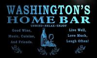 x1090-tm Washington's Home Bar Wine Cave Custom Personalized Name Neon Sign Wholesale Dropshipping On/Off Switch 7 Colors DHL