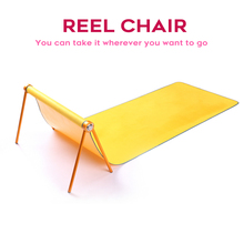 Camping outdoor camping, portable folding chair, fishing picnic rest chair