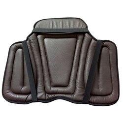 Reit PU Sattel Pads Schwarz Reiten Schabracke Weiche Reit Sitz Pad Reiten Ausrüstung Paardensport Cheval Eine