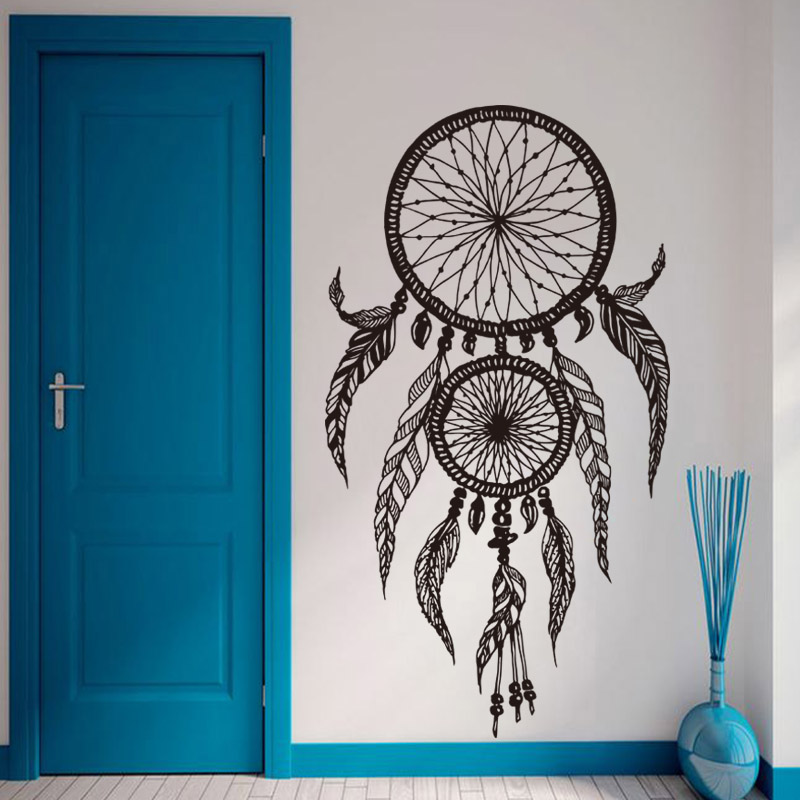 Decoration For Home For Cheap: Art New Design Home Decor Vinyl Dream Catcher Wall