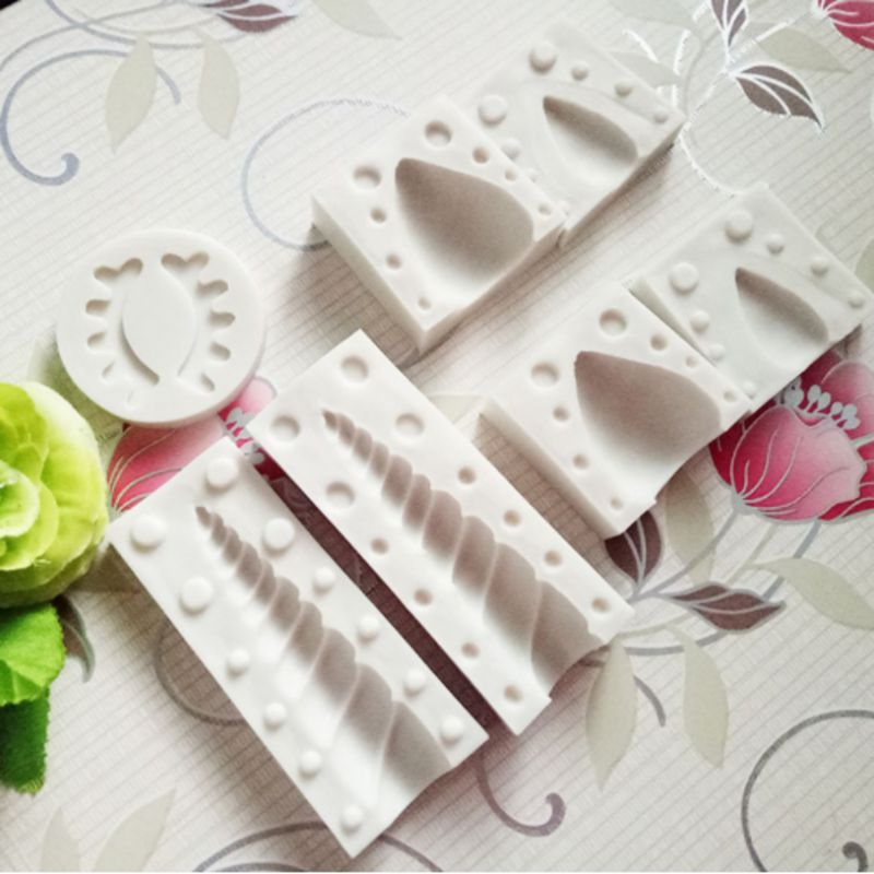 7pcs Birthday Animalsl Silicone Mold Fondant Mould Cake Decorating Tools Chocolate Kitchen Gadgets