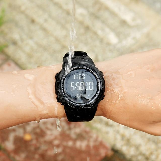 f3670b19db1 SKMEI Men Sports Watches Countdown Double Time Watch Alarm Chrono ...