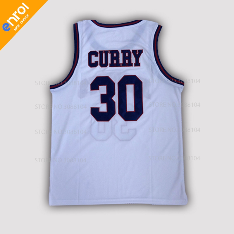 New Cheap Mens Stephen Curry 30# Basketball Jerseys Charlotte Christian Knights HS Throwback Stitched Retro High Quality Shirts