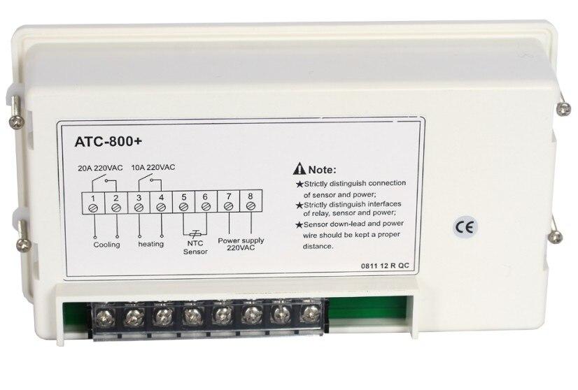 Digital dual mode heater & cooler aquarium temperature controller.