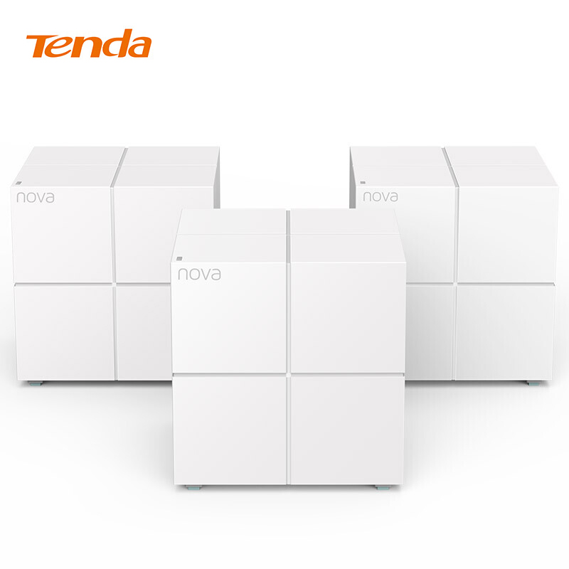 Tenda Nova Wireless Wifi Router 11AC Dual Band 2.4Ghz/5.0Ghz Wifi Repeater Mesh WiFi System APP Remote Manage English Firmware tp link wireless router 802 11ac ac1750 dual band wireless wifi router 2 4g 5 0g vpn wifi repeater tl wdr7400 app routers