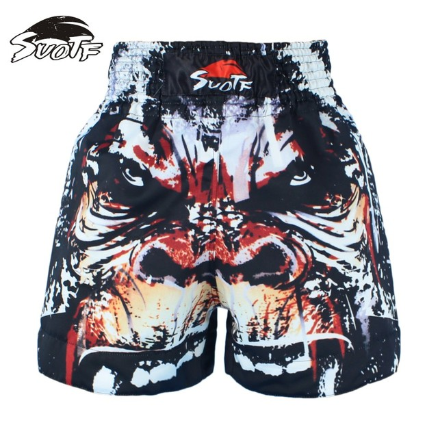 SUOTF MMA Gamblers Boxing Pants Fitness Training Boxing Sports Fighting Squets Specialist Boxing Shorts Short Pants mma