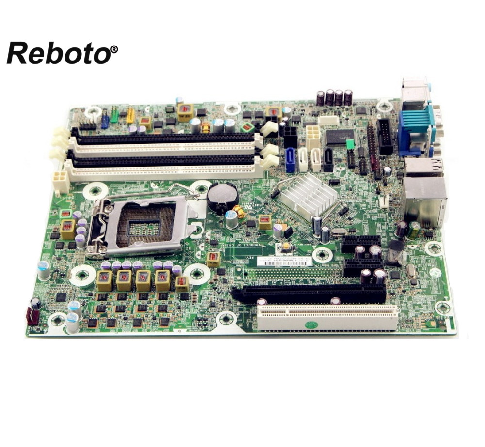 Reboto For HP 6280 6200 PRO series 615114 001 desktop motherboard mainboard Q65 LAG 1155 DDR3