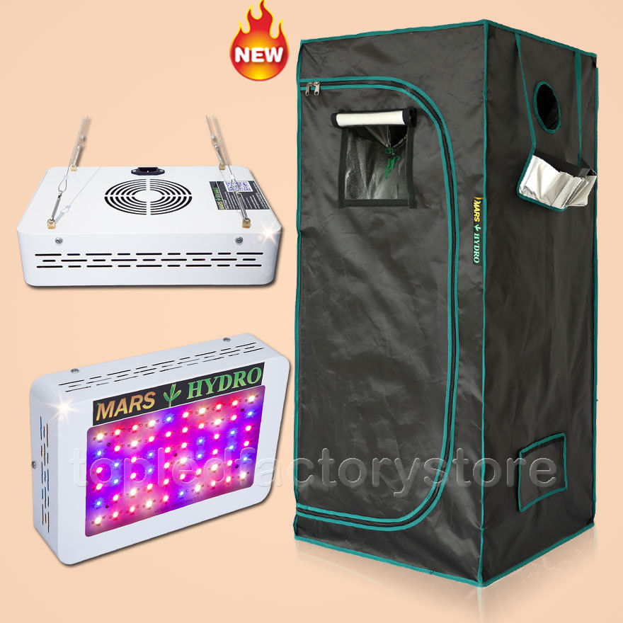 Aliexpress.com  Buy 300W Led Grow Light Veg Flower Plant + 70x70x160cm Indoor Grow Tent Kit from Reliable tent play suppliers on MarsHydro LED Grow Light ... & Aliexpress.com : Buy 300W Led Grow Light Veg Flower Plant + ...