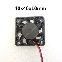 새로운 4010 팬 40MM 4CM 40*40*10mm 팬 남쪽 및 북쪽 교량 칩 그래픽 카드 냉각 팬 DC5V 12V 24V 2pin 3pin
