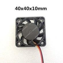 Ventilador de 40MM 4CM 40x40x10mm para chip de Puente Sur y Norte, ventilador de enfriamiento de la tarjeta gráfica DC5V 12V 24V 2pin 3pin, novedad de 4010