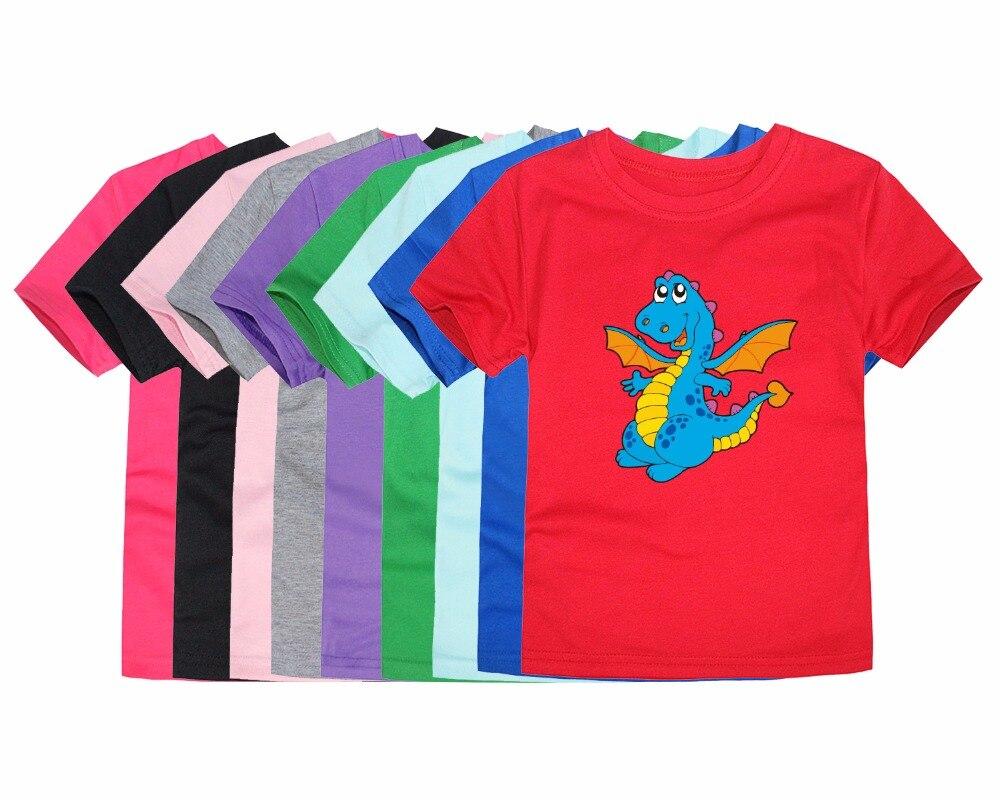 TINOLULING Clothing Tops T-Shirts Dragon Baby Boys Kids Cotton Fashion Children Summer