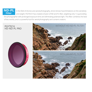 Image 5 - PGYTECH DJI Osmo Action Lens Filter Kit UV CPL ND8/16/32/64 ND8/16/ 32/64 PL Set Professionele versie Voor Sport Camera