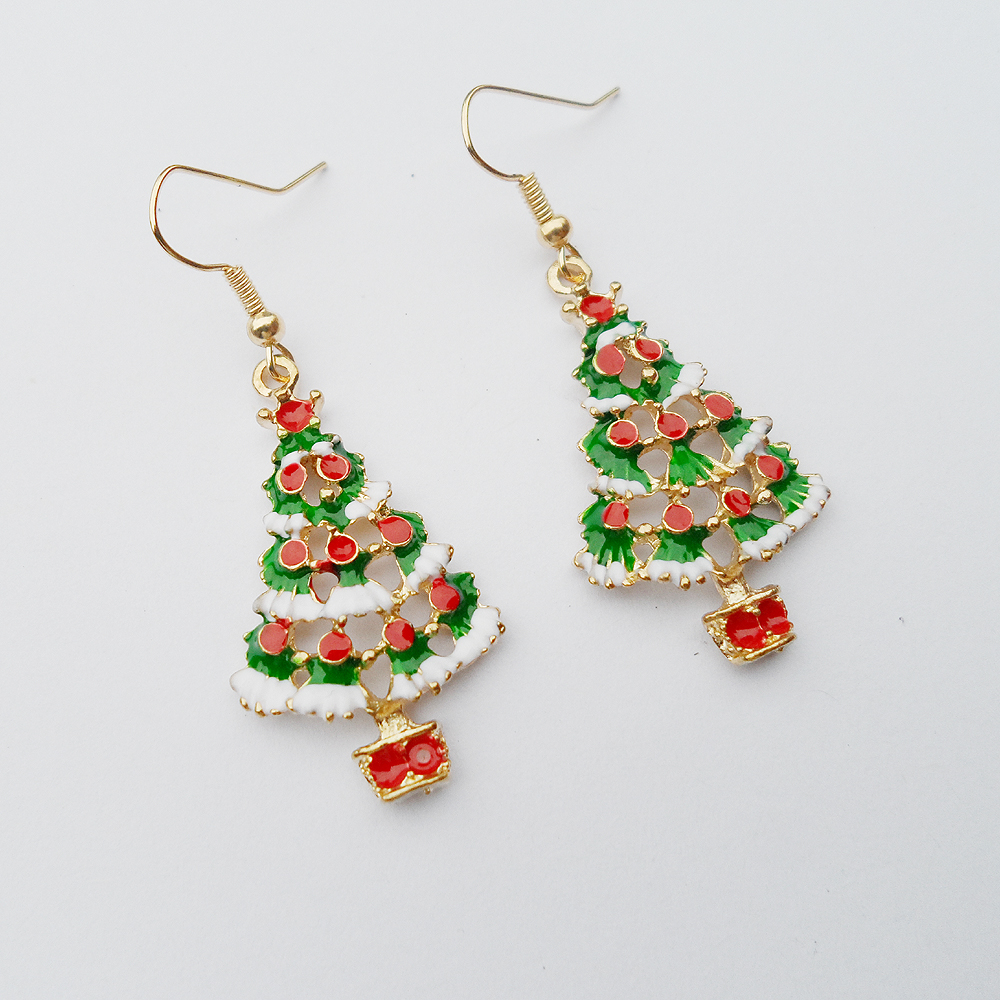 beaddiagrams for free pattern christmas com earrings tree beading