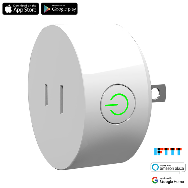 US $16 99 |Japan Smart Plug Wifi Socket 10A Mini Wireless Outlet Work with  Amazon Alexa Echo and Google Assistant IFTTT-in Home Automation Modules