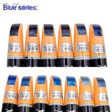 1 шт., 12 мл, синие цвета, восстановление покраски автомобиля, ручка для автомобиля, профессиональная умная краска для покрытия, средство для удаления царапин, защита от царапин