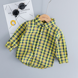 Image 5 - Childrens Clothing Set for Boys Girls Long sleeves Clothes Suit Denim Overall + Plaid Shirt 3 Colors Choose Childrens Suit