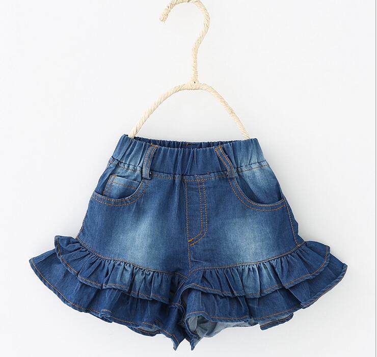 saias azul calcas de brim curto saia 02