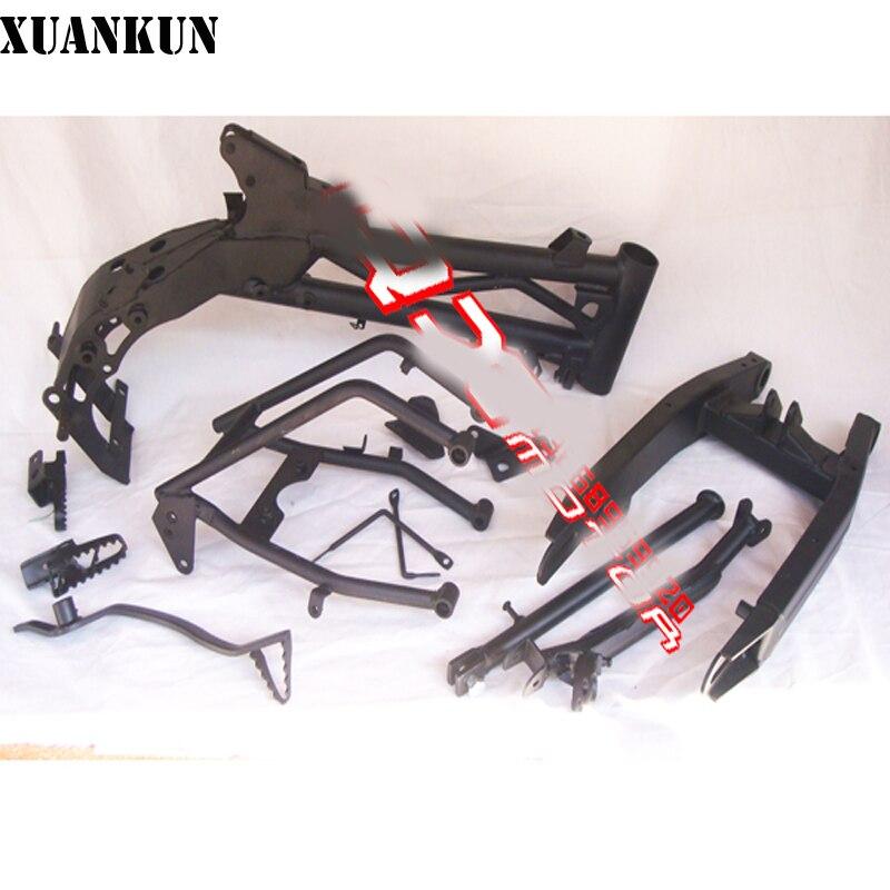 XUANKUN tout-terrain moto cadre assemblage Klx110 tout-terrain moto cadre ensemble complet de montage