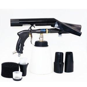 Image 2 - Z 020 الجيل الجديد 2 تورنادو الأسود عالية الجودة قوة كبيرة دائم تورنادو بندقية ل آلة غسل سيارات (1 مجموعة كاملة كاملة)