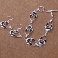 AS358 Hot 925 sterling  silver Jewelry Sets Earring 500 + Bracelet 207 /aocajfja aupajlwa