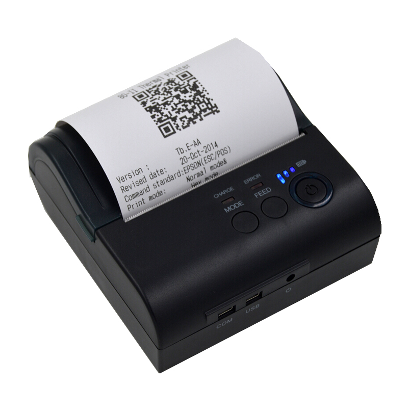 80mm portable Wifi thermal printer with battery support wireless printing small size  bus and taxi receipt printing machine80mm portable Wifi thermal printer with battery support wireless printing small size  bus and taxi receipt printing machine