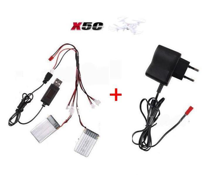 Syma X5C X5 X5SW X5SC font b RC b font quadcopter 3 7V 500Mah Li po