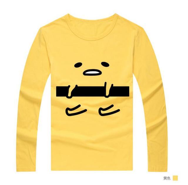 77a40f37fdc69 Gudetama t shirt cosplay costume Anime t shirt d été coton à manches ...