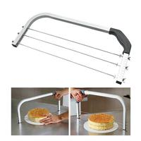 Adjustable Large 3 Blades Cake Cutter Interlayer Cake Slicer DIY Household Baking Tools Leveler Stainless Steel Cut Saw JUN4