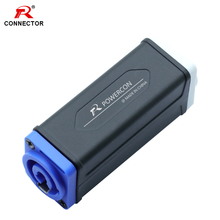 1pc PowerCon Extender Connector Blue-White Blue-BLue White-White Stage Lighting Chassis Socket Extension Aviation