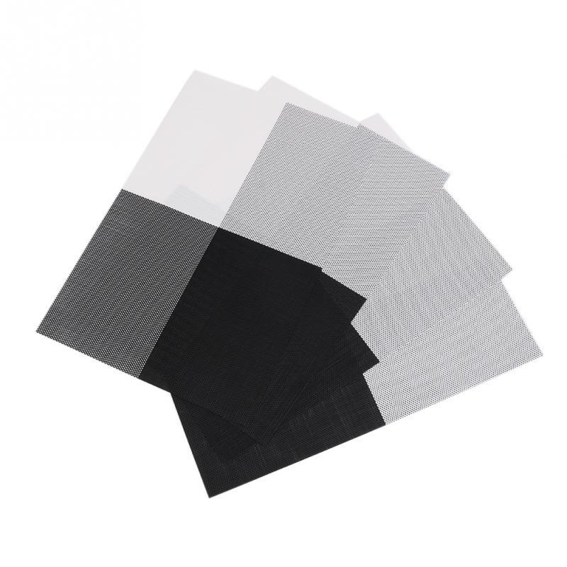 4pcsset placemat crossweave woven vinyl nonslip insulation placemat washable table mats - Vinyl Placemats