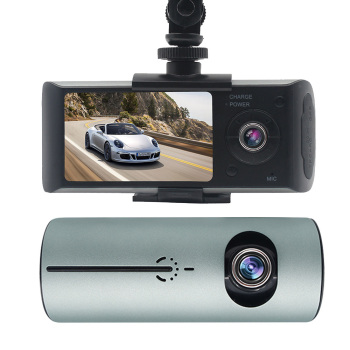 Car DVR Camera HD 2.7 Inch TFT LCD Screen Dual lens Night Vision G-Sensor Driving Recorder Parking Monitor Loop Recording