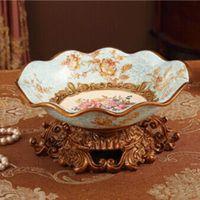 Nuovo anno nuovo anno Della frutta della decorazione piatto royal rustico accessori per la casa in resina ceramica vassoio di frutta secca regalo di nozze