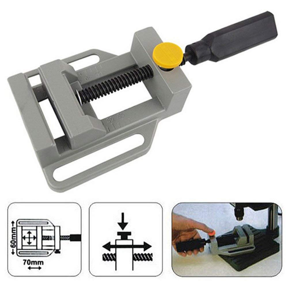 LIXF Aluminum Mini Flat Clamp for Drill Stand Handle Engraving Workbench DIY Tool Milling Machine Manual Clamps Woodworking цена