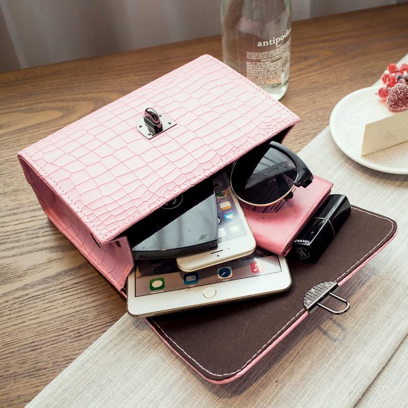 Kvaliteetne Macaron värvi klapi kott naiste messenger kotid värske - Käekotid - Foto 5