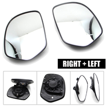 Parts Rear View Mirror Left & Right Replacement Black Motorcycle Glass For Honda Goldwing GL1800 2001-2012