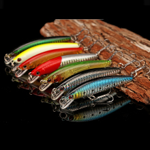 Купить с кэшбэком 1 pcs 3d eyes jerkbait fishing lure 8.5cm 6g pesca Isca savage gear hard bait wobblers popper winter for fishing jig lure