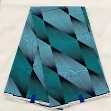 цена African Print Block Wax Cotton Fabric, African Kente Print Ethnic Ghanian Fabric Cloth For Dress Sewning LSW-59 онлайн в 2017 году