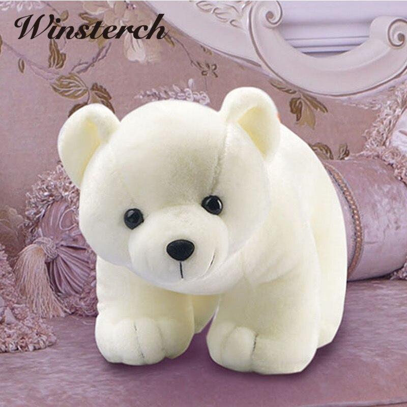 ᗖ45 cm Beanie Boo Oso Polar suave peluche relleno muñeca juguete ...
