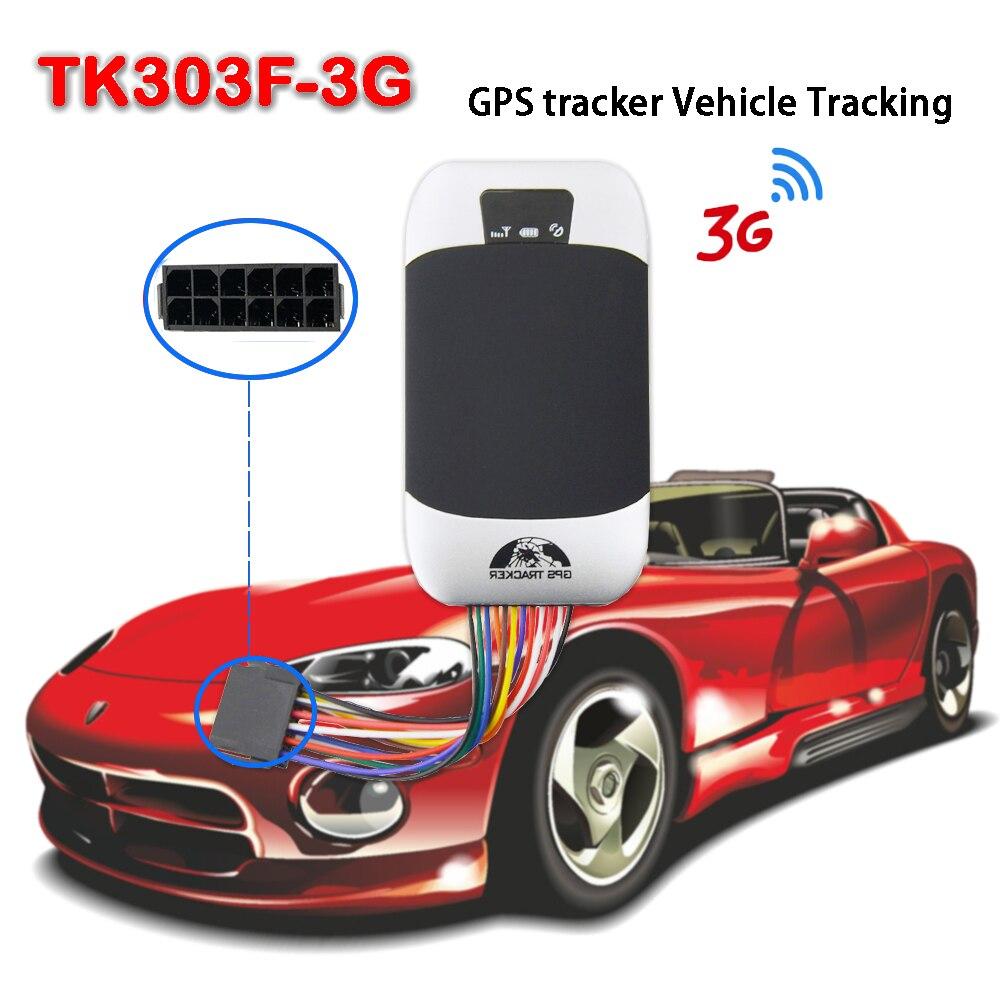 Mini 3G WCDMA GPS303F-3G traqueur de voiture en temps réel suivi traqueur de voiture 9 V-40 V localisateur TK303F-3G étanche à l'eau