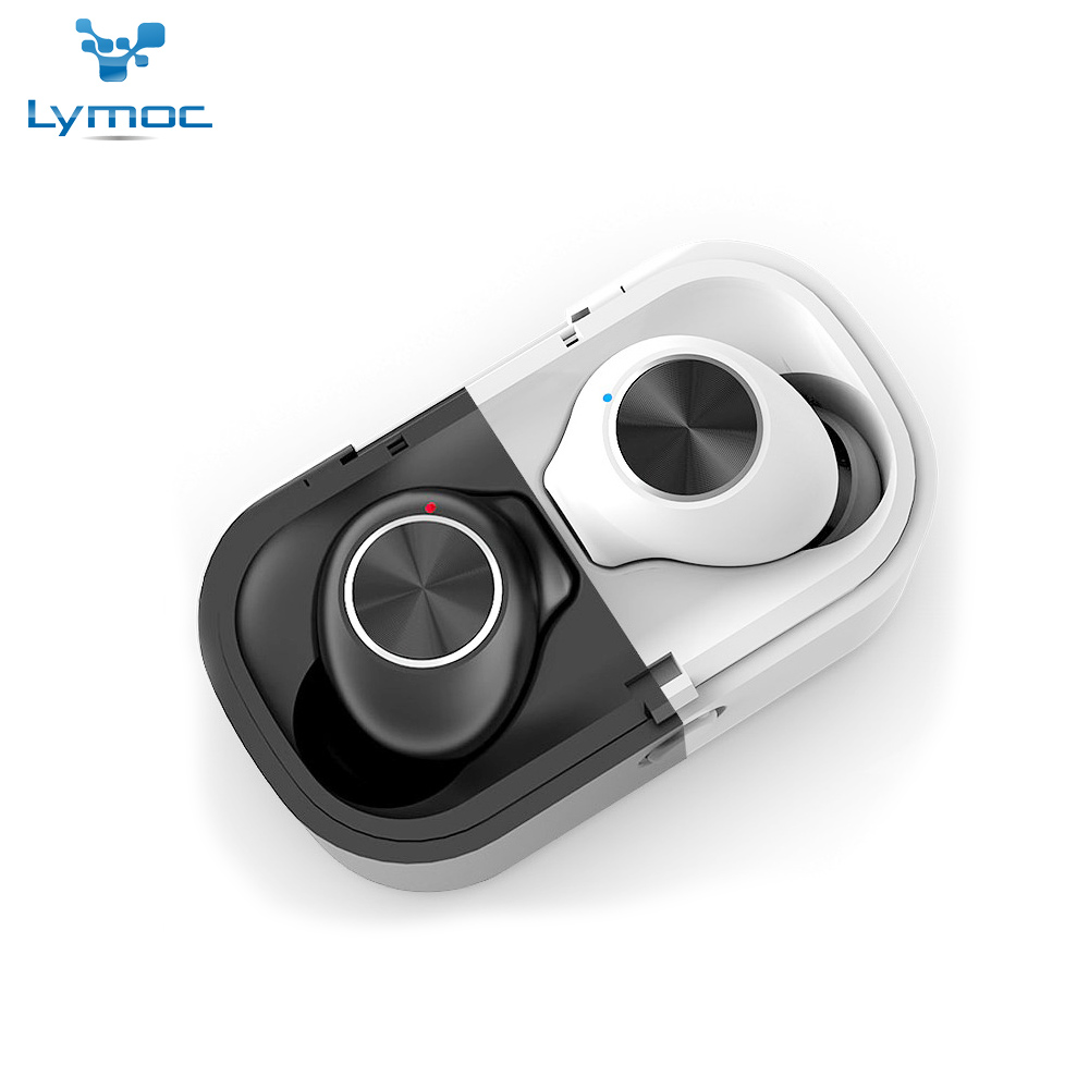 LYMOC LY18 TWS Wireless Bluetooth Earphones 5.0 True Wireless Earbuds Deep Bass Stereo Sound Sport Twins Headsets for All Phone LYMOC LY18 TWS Wireless Bluetooth Earphones 5.0 True Wireless Earbuds Deep Bass Stereo Sound Sport Twins Headsets for All Phone
