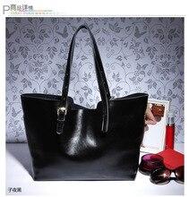 2016 ladies handbags womens bags famous brand  genuine leather shoulder bags Women natural skin casual  tote bag bolsas sacola