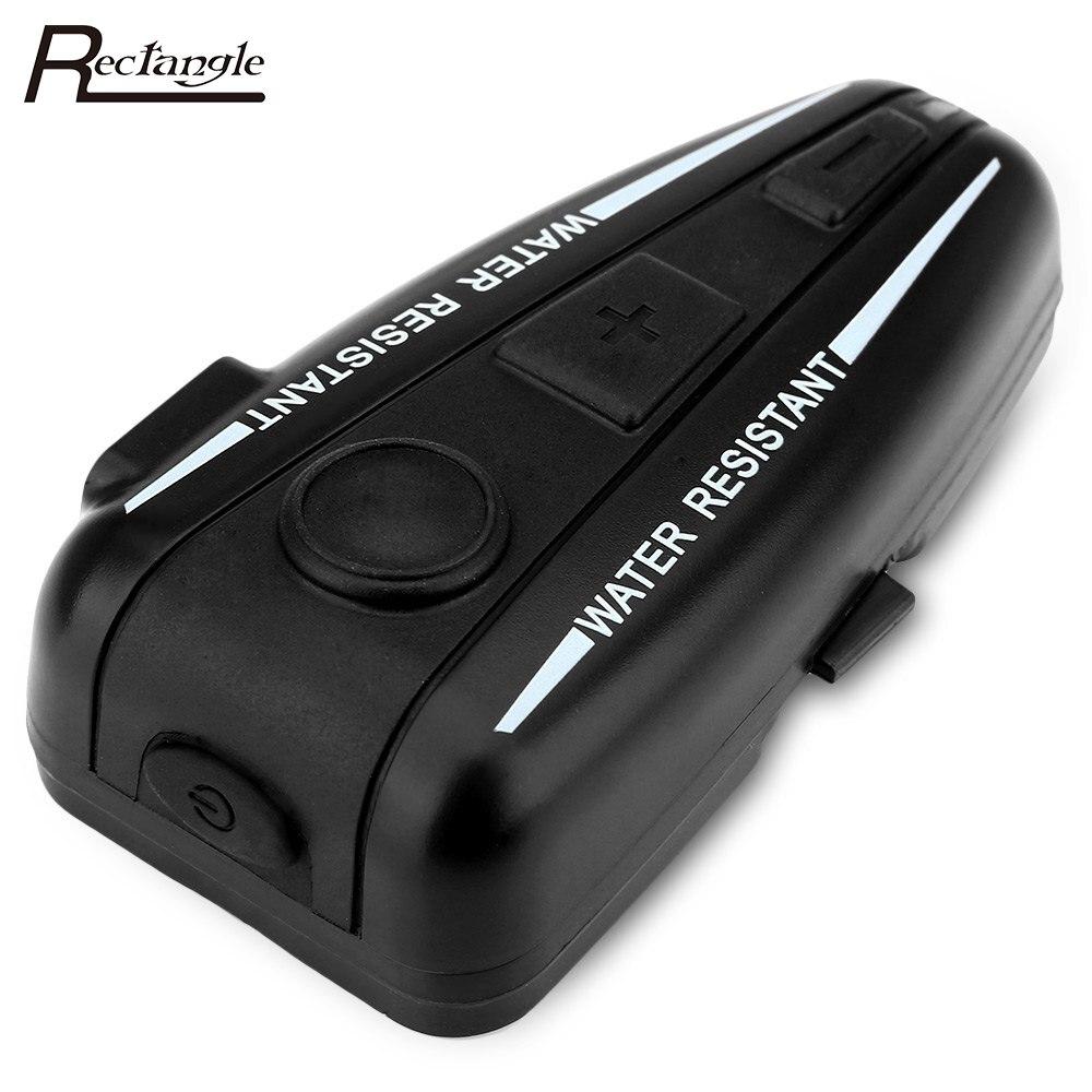 Prix pour Moto Interphone D2 500 m Bluetooth Moto Casque Interphone/FM Radio/GPS Bluetooth 3.0 Interphone 4 Boutons Opération