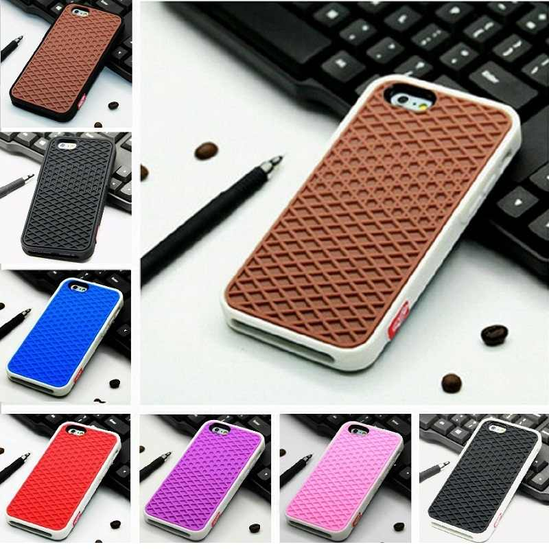 1610b8ecb5d Detail Feedback Questions about VANS Waffle Case For Apple iPhone X 10 8 7  6 6S 5 5s 7 plus SE Cover Soft Rubber Silicone Waffle Shoe Sole Mobile  Phone ...