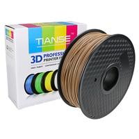 3D Filament 1.75mm 400 M lange Hout PLA printing verbruiksartikelen materiaal voor 3D printer 3D pen plastic rubber ABS PLA PA PVA HEUPEN